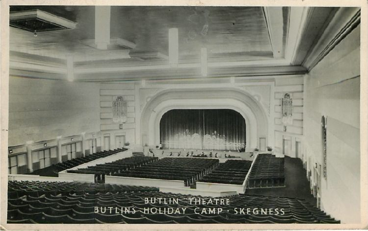 Butlin Theatre - Butlins Holiday Camp - Skegness