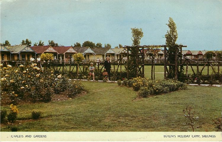 Chalets and Gardens - Butlin's Holiday Camp, Skegness