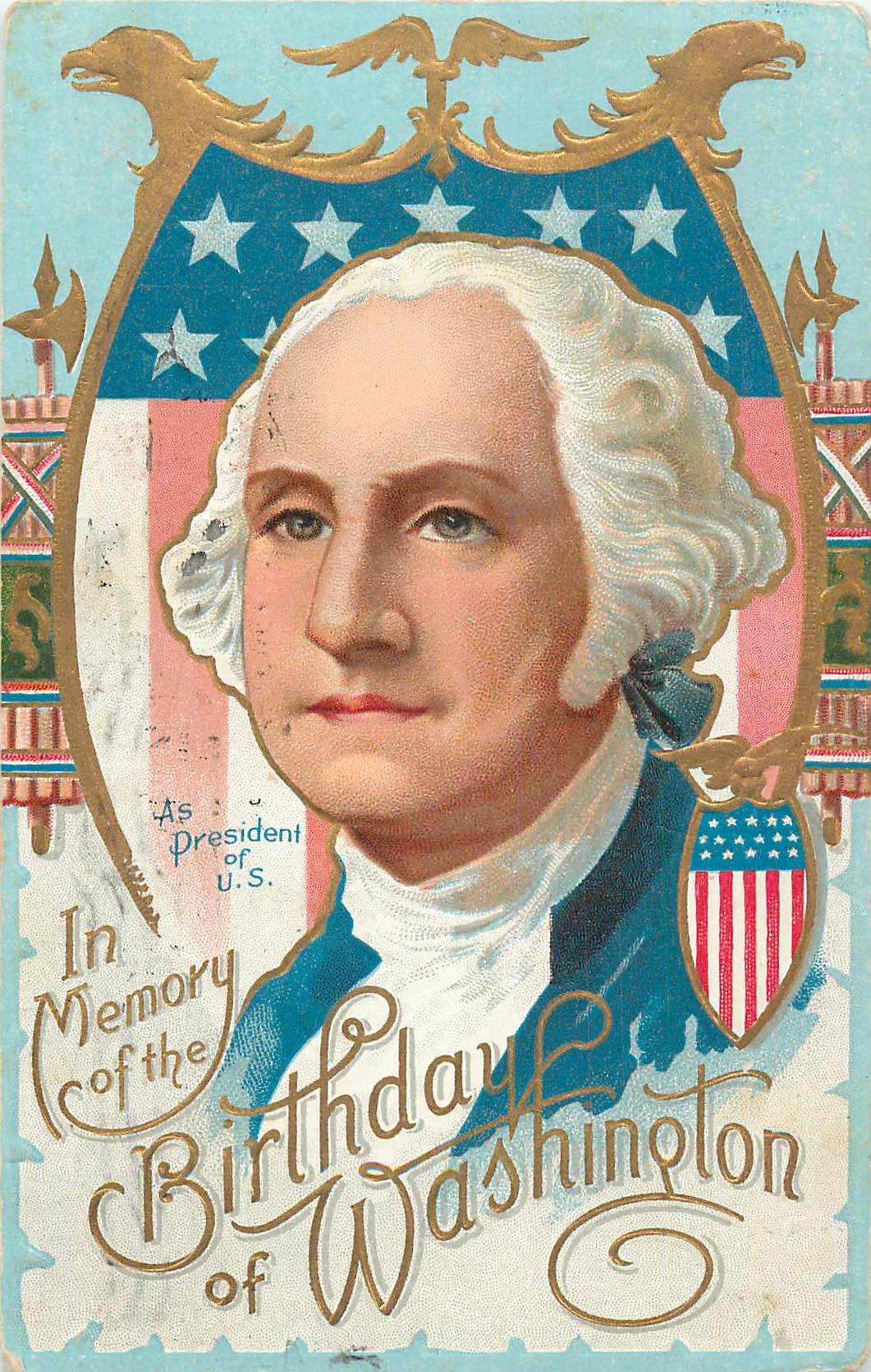 """In Memory of the Birthday of Washington"""