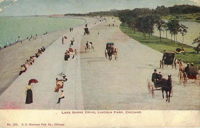 Lake Shore Drive Lincoln Park Chicago Ill