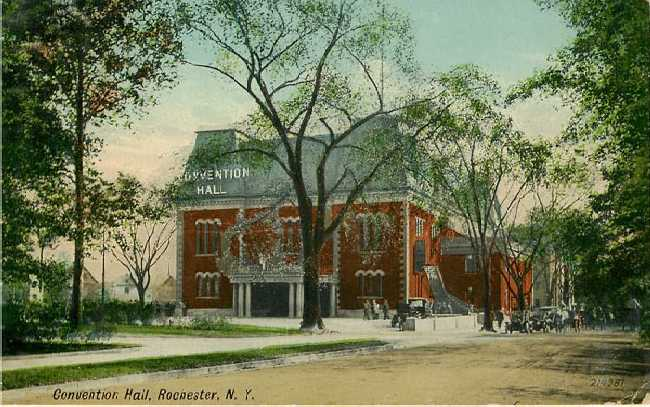 Convention Hall Rochester N Y 1914