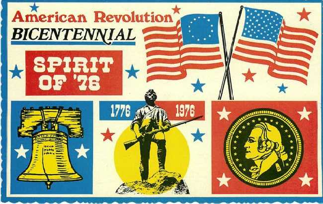 American Revolution Bicentennial Spirit of 76