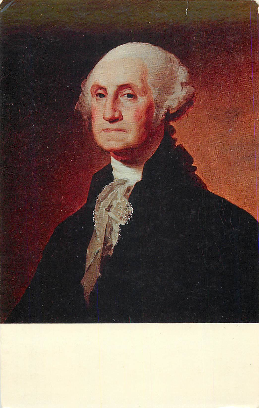 """George Washington - by Gilbert Stuart"""