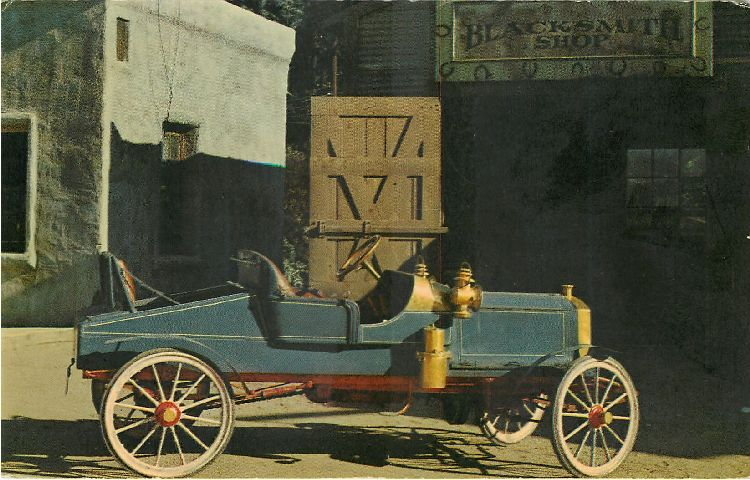 1903 Mitchel Classic Car Postcard