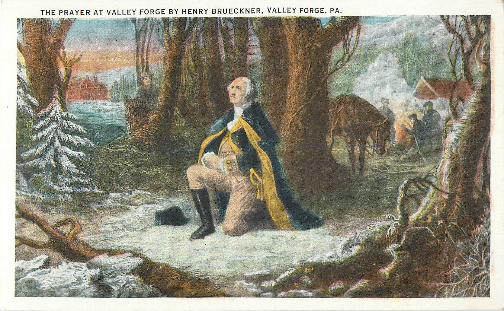 """The Prayer at Valley Forge"""