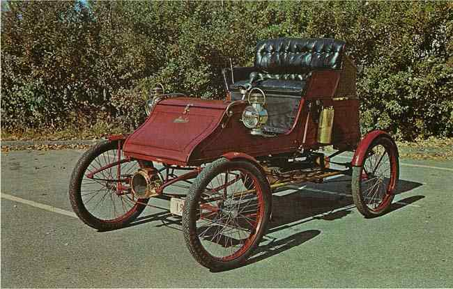 1903 Stanley Steam Car Postcard