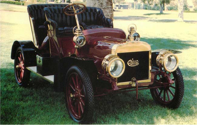 1907 Carter Car Classic Postcard