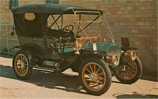 1907 REGAL Classic Car Postcard