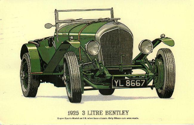 1925 3 Litre Bentley Classic