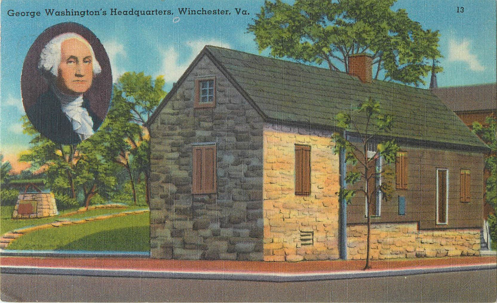 """George Washington's Headquarters"""