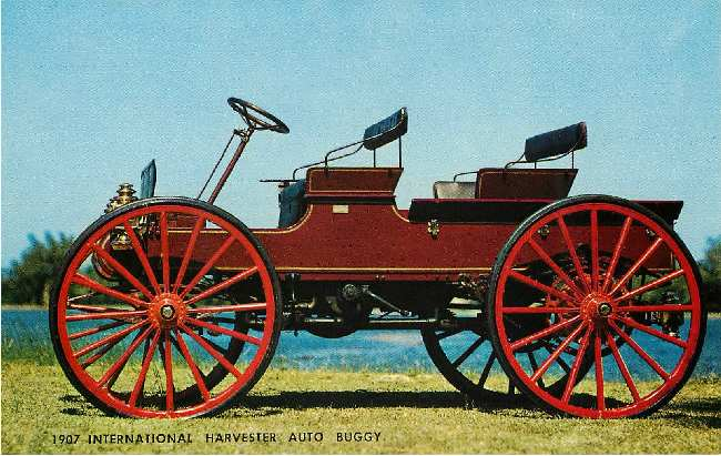 1907 International Harvester Auto Buggy Classic Car