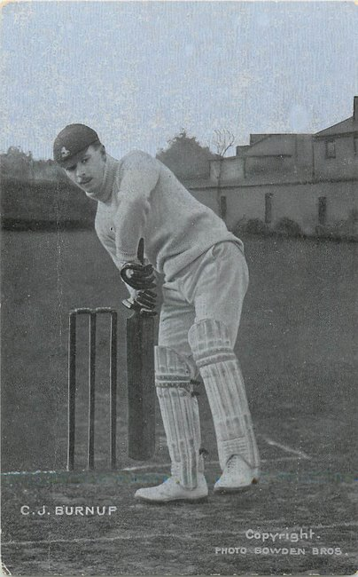 C.J. Burnup cricket photo