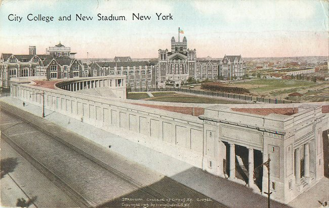 City College and New Stadium, New York