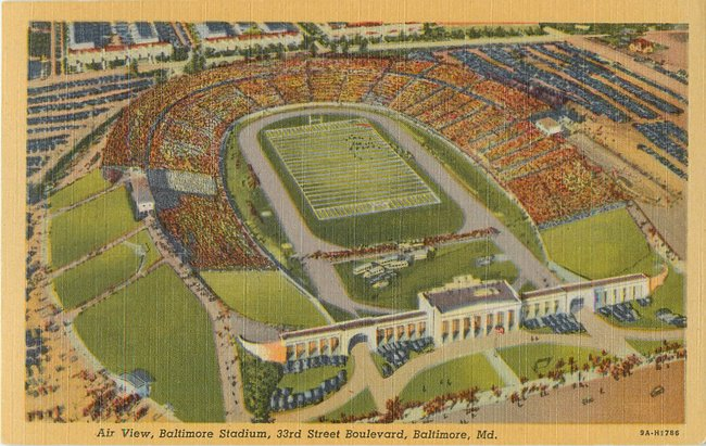 Air View, Baltimore Stadium, 33rd St Boulevard, MD (copy 2)
