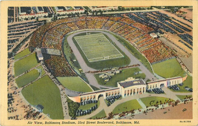 Air View, Baltimore Stadium, 33rd St Boulevard, MD (copy 4)