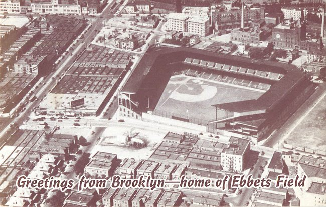 Greetings from Brooklyn -- Home of Ebbets Field