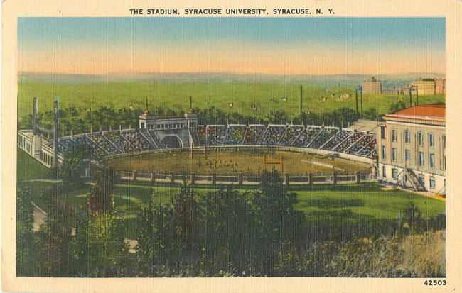 The Stadium, Syracuse University, Syracuse, NY