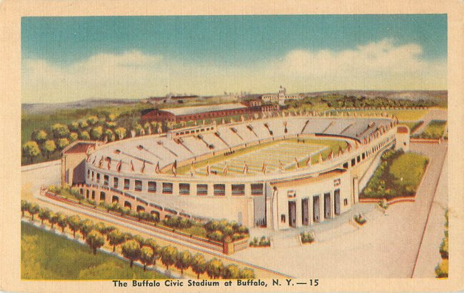 The Buffalo Civic Stadium at Buffalo, NY