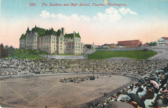 The Stadium and High School, Tacoma, Washington