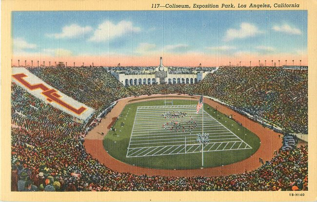 Coliseum, Exposition Park, Los Angeles, California