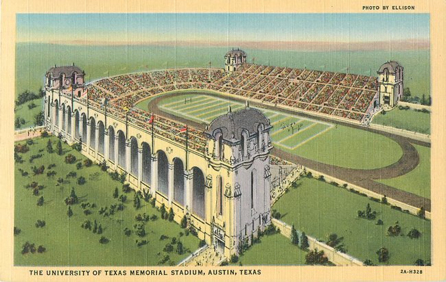 The University of Texas Memorial Stadium, Austin Texas
