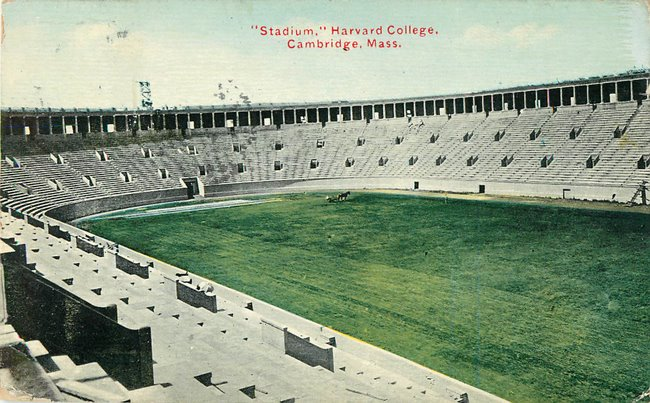 """Stadium,"" Harvard College. Cambridge, Mass."