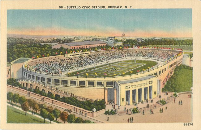 Buffalo Civic Stadium, Buffalo, N.Y.