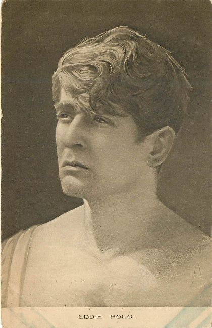 Eddie Polo Edwardian Actor A Trans Atlantic Film Co. Postcard