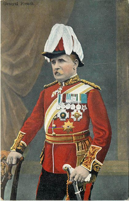 General French in Full Uniform Great Britain Postcard