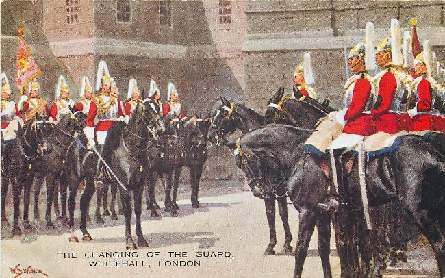 The Changing of the Guard, Whitehall, London