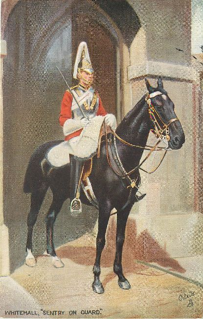 "Whitehall, ""Sentry on Guard"
