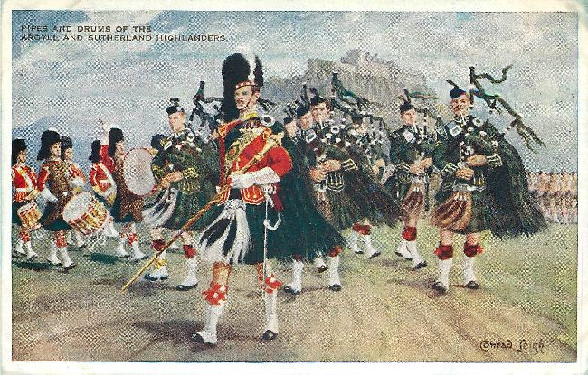 The Argyll and Sutherland Highlanders - Signed by Conrad Leigh