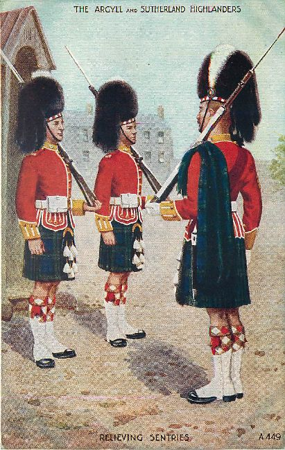 The Argyll and Sutherland Highlanders