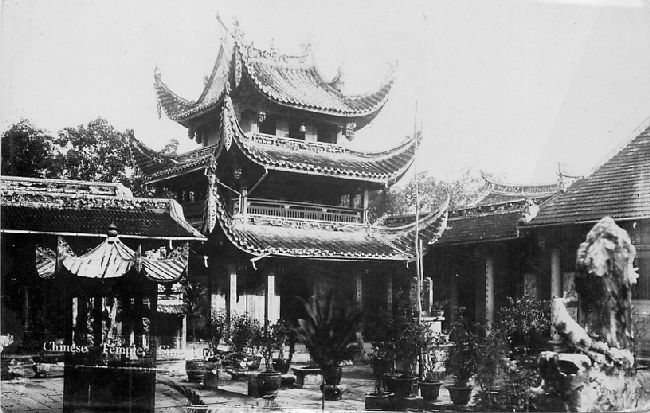 Chinese Temple Japan Postcard