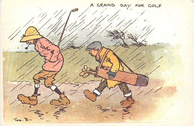 A Grand Day for Golf by Tom B