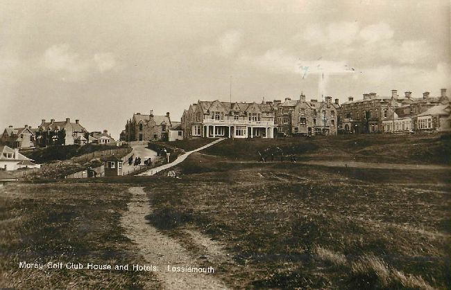 Moray Golf Club House and Hotels. Lossiemouth