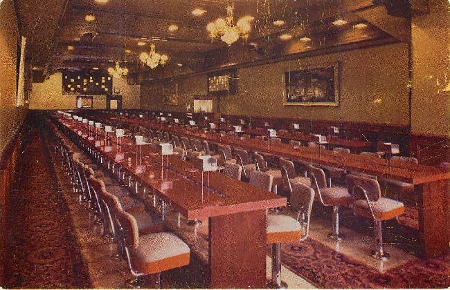 Bingo Room - The Golden Nugget - Las Vegas, Nevada Postcard