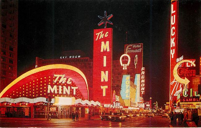 Casino Center Postcard