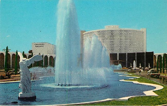 Caesars Palace in Las Vegas, Nevada Postcard