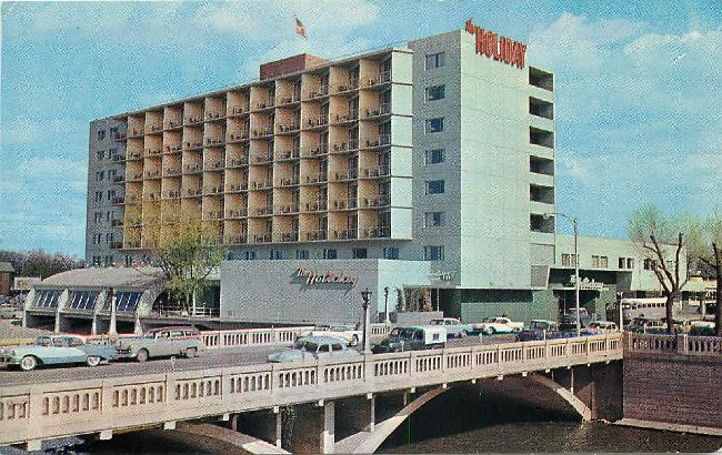 """The Holiday in Reno"" Postcard"