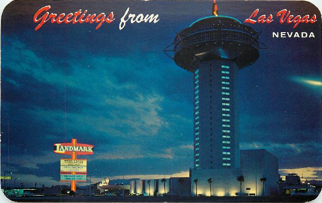 Greetings from Las Vegas, Nevada Postcard