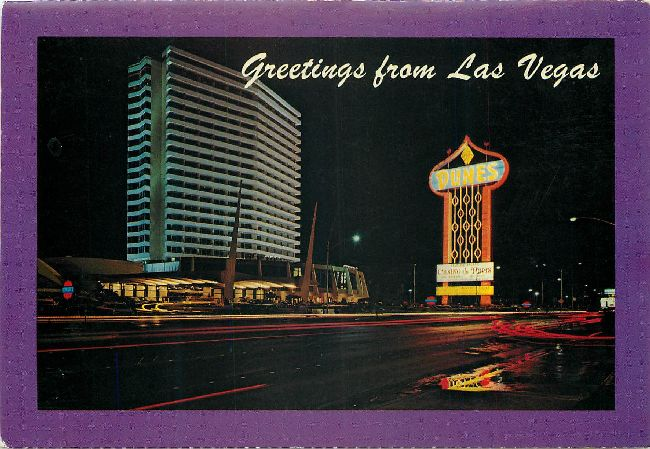 Greetings from Las Vegas Postcard