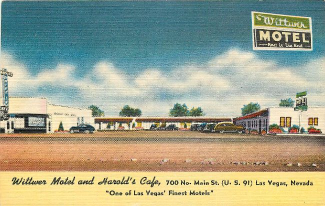 Wittwer Motel and Harold's Cafe
