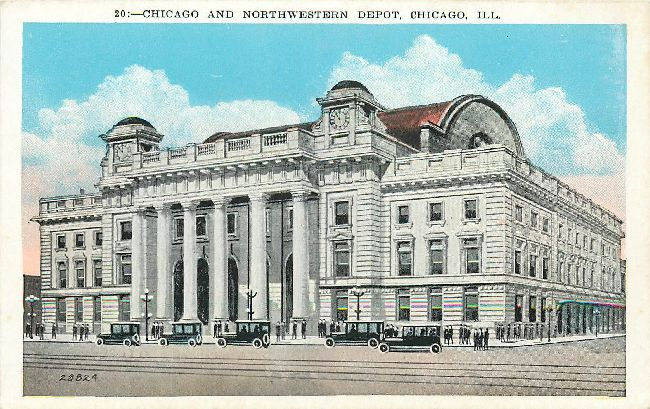 Chicago and Northwestern Depot, Chicago, Ill.