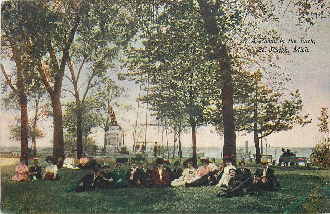 A Picnic in the Park, St. Joseph, Mich.