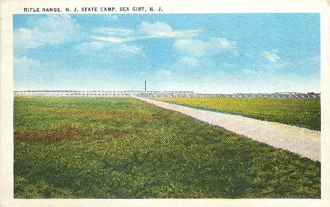 Rifle Range, N.J. State Camp, Sea Girt, N.J.