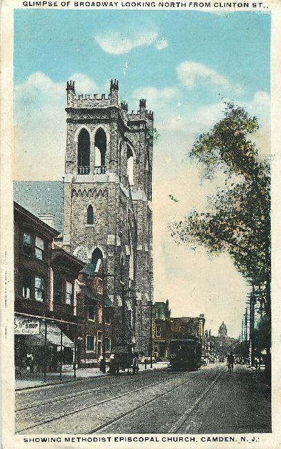 Showing Methodist Episcopal Church, Camden, N.J.