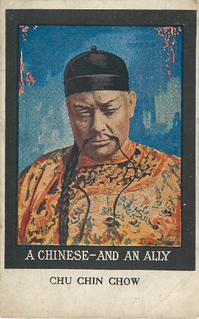 A Chinese - And An Alley CHU CHIN CHOW Postcard