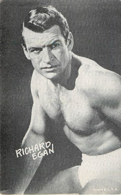 Richard Egan Printed in the USA Postcard
