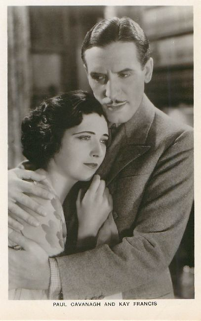 Paul Cavanagh and Kay Francis Postcard